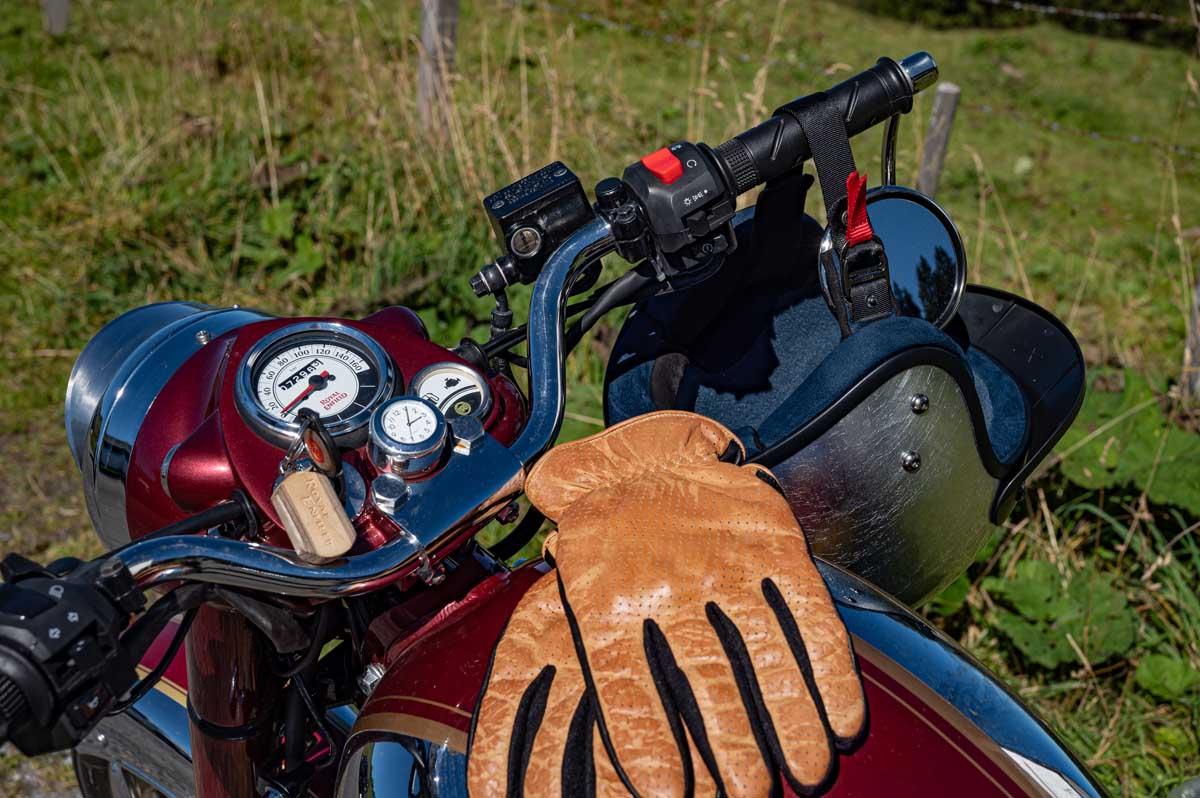 Leder-Handschuhe: Original Driver