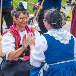 Alte Traditionen, die wir Talbewohner nur noch selten zu sehen kriegen.