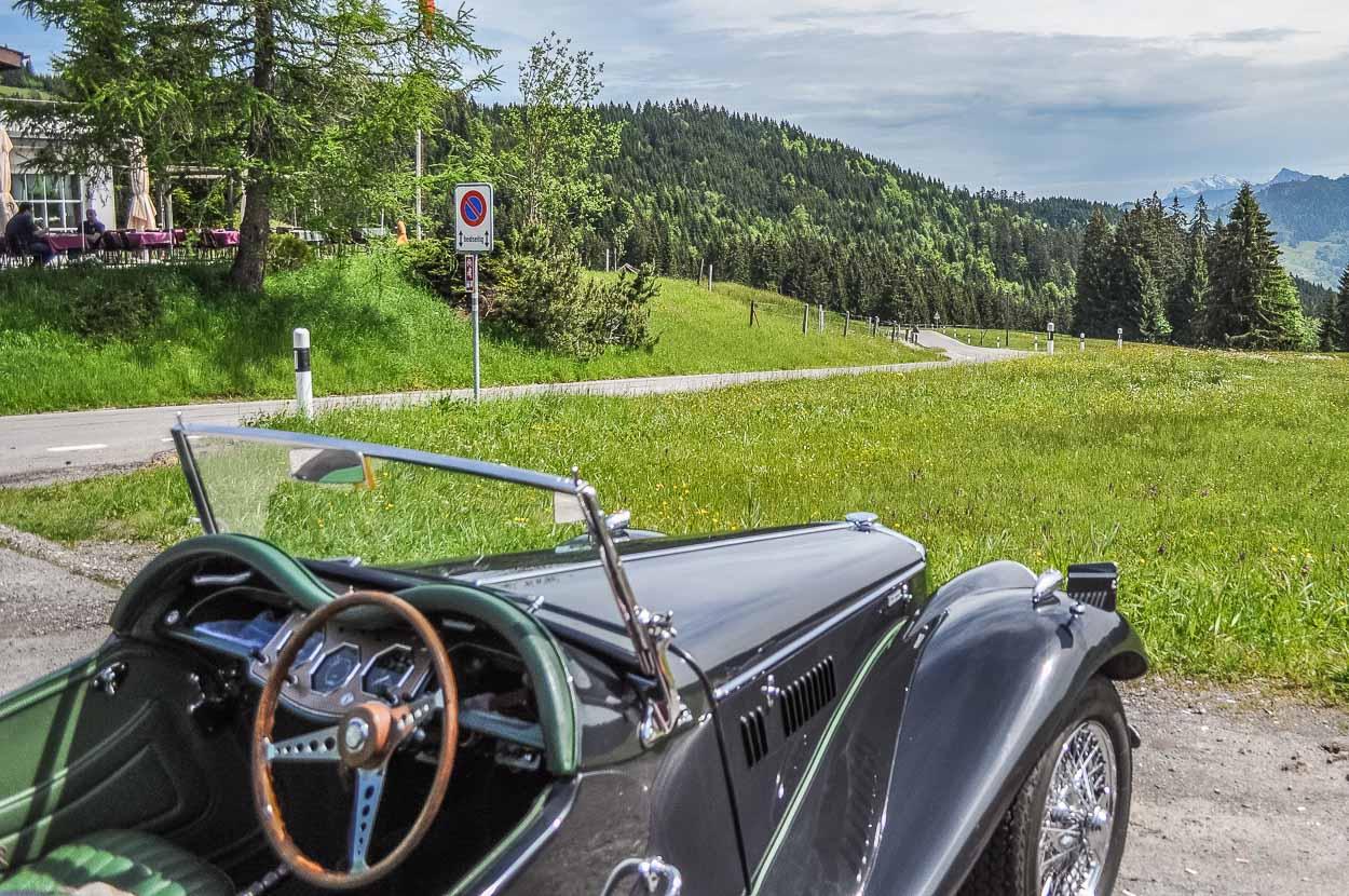 Die Sattelegg ist ein beliebter Treffpunkt für Töff-...