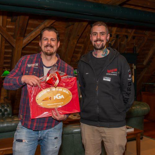 Gregor Frey und Marino Frey von Whitestone Motorcycles AG, Bellach