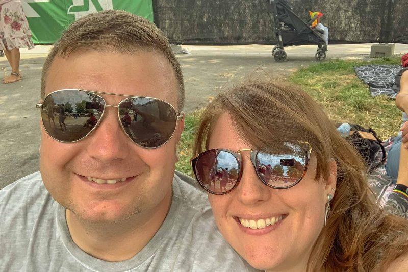 Reto und Manuela am Reeds 2019