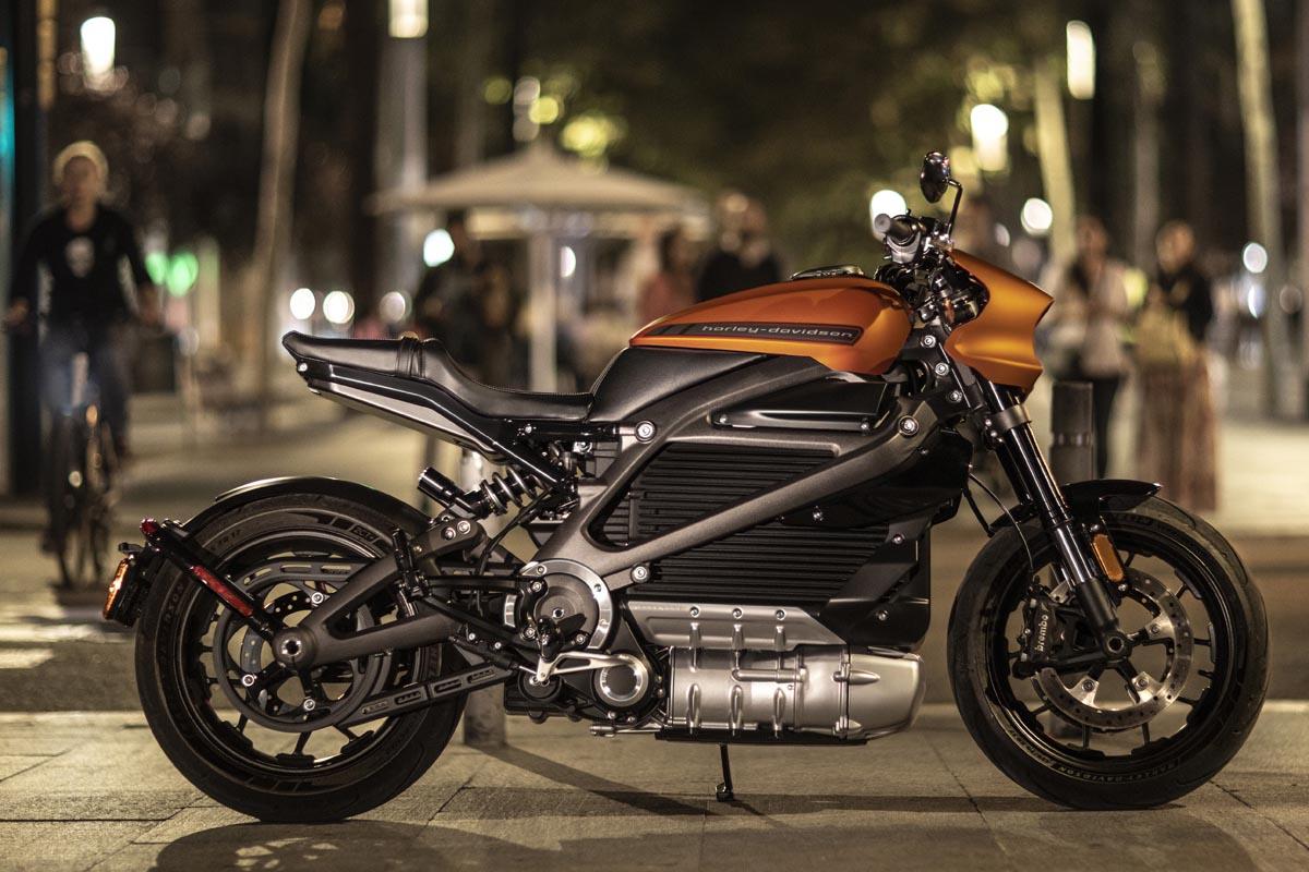 Die Harley-Davidson LiveWire: ein völlig neues Motorraderlebnis