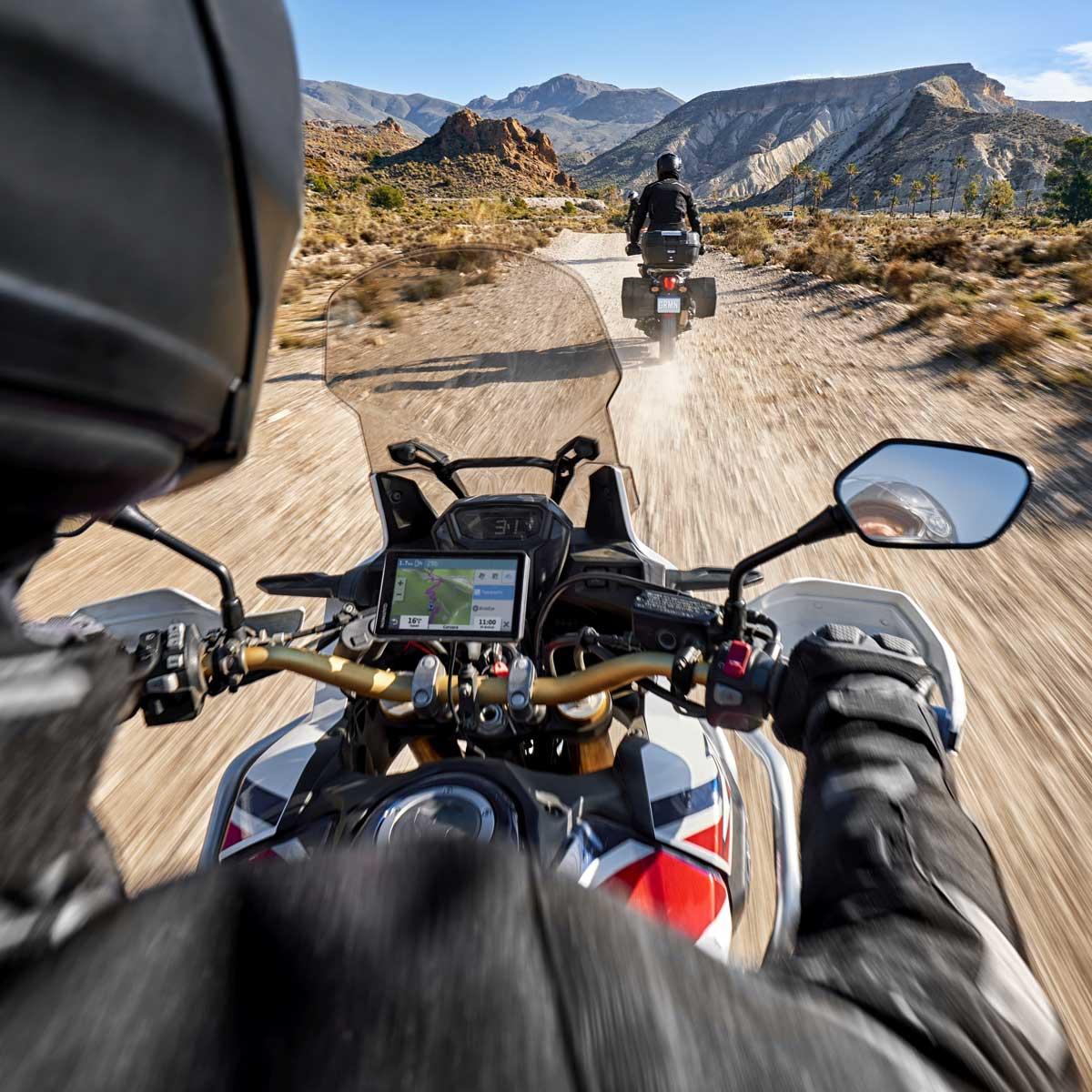 Das neue zūmo XT ist für Motorradtouren Onals auch Offroad der ideale Begleiter.