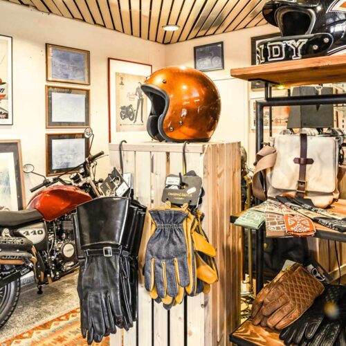 Veldt Helm mit Kupfer-Folie und Klarlack überzogen – nur eine der unzähligen Customizing-Möglichkeiten.