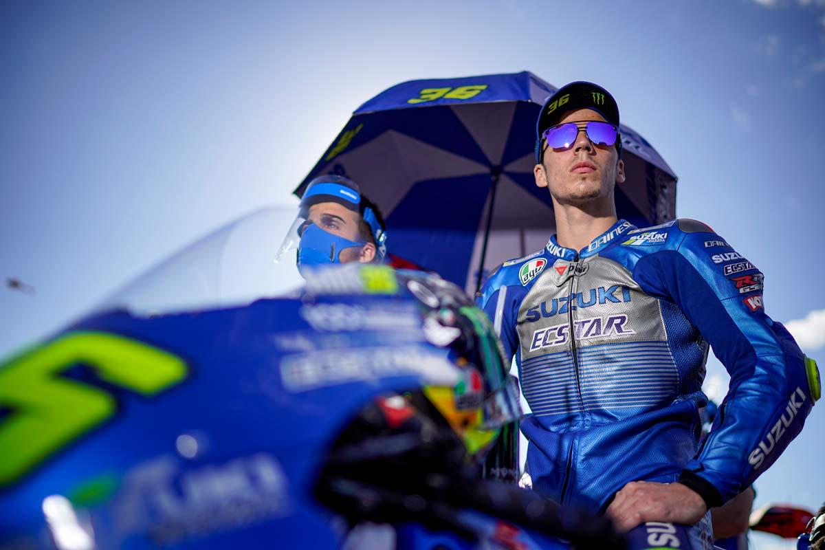 Im 100 Jahre Suzuki Jubiläumsjahr holt sich Joan Mir auf seiner GSX-RR sensationell im vorletzten Saisonrennen den Moto GP Weltmeistertitel.