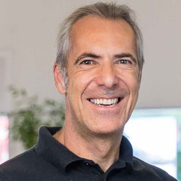 Ernesto Rothen, Mitinhaber der Stahlmoto AG in St. Gallen.