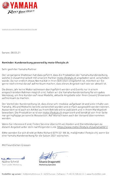 Schreiben_Yamaha_Schweiz_0321_Vorschau