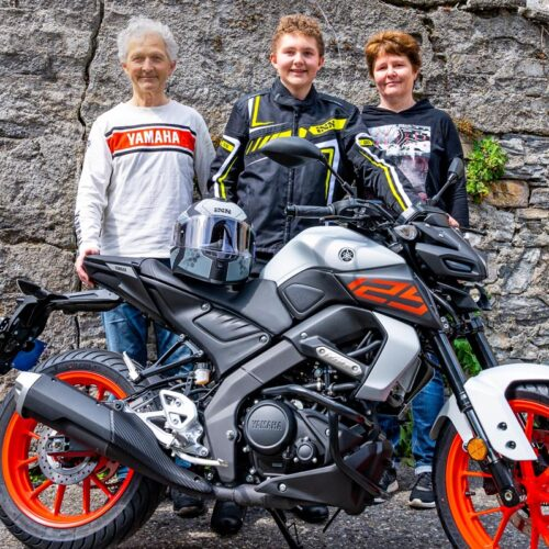 Andreas, Noah und Regina Morf