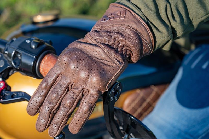 iXS Handschuhe Belfast Braun