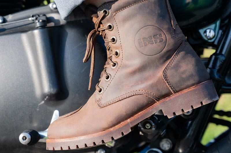 iXS Classic Schuh Oiled Leather Braun